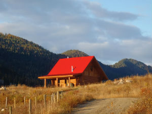 Backcountry Accommodation - rustic cabin