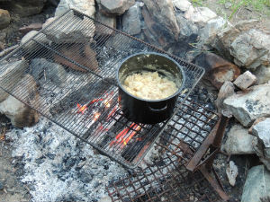 Campfire Cooking at its best
