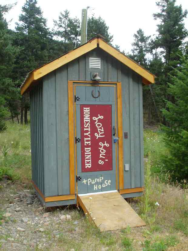 Lazy Loo and Pump House
