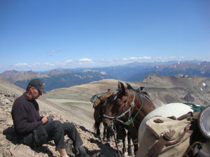 Backcountry accommodation riding