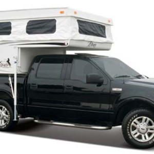 Budget travel with a tuck camper