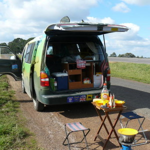 Budget Travel with a wicked Camper