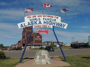 Yukon Canada - Alaska Highway