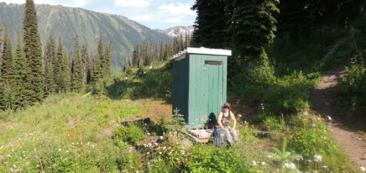 Phenomenal Canadian Outhouse Or The Privy Backcountry Canada Travel Largest Home Design Picture Inspirations Pitcheantrous
