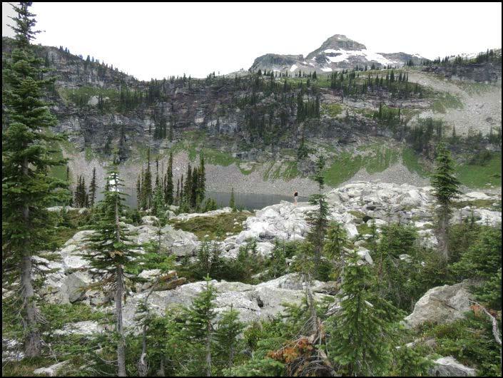 Tsuius Mountain View British Columbia