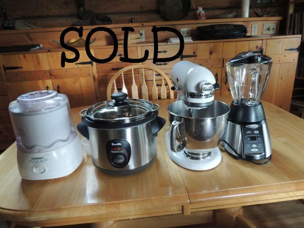 Appliances Sold