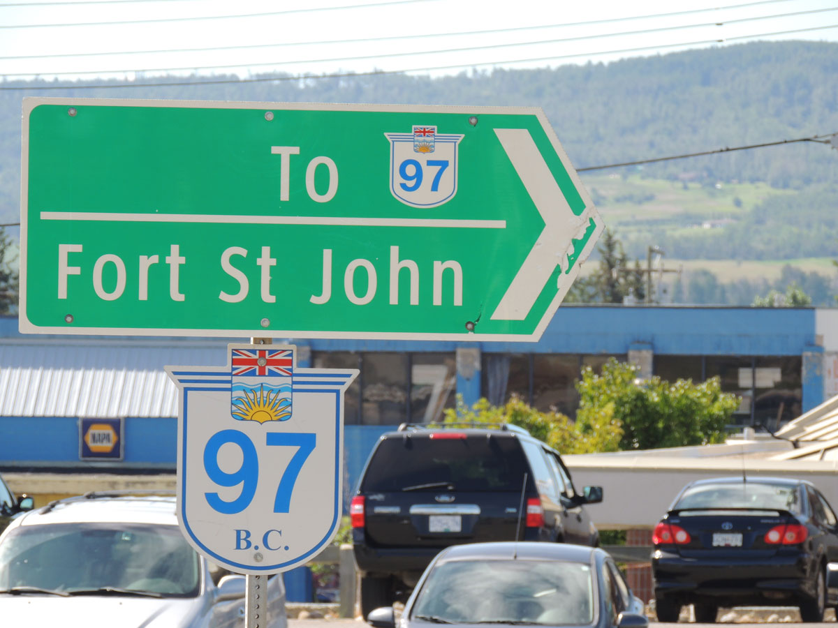 Alaska Highway Sign