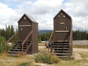 South Klondike Outhouse