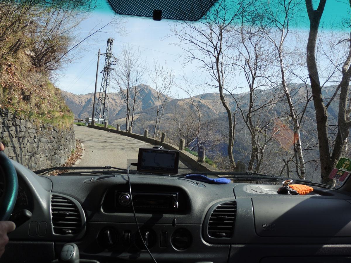 Switzerland - narrow roads