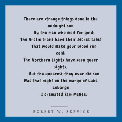 Robert Service - Sam McGee
