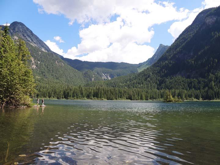 Spectrum Lake Monashee Provincial Park BC