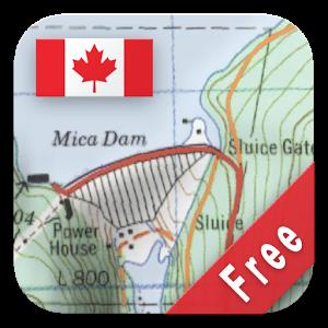 Canada Topo Maps