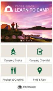 Park Camping App