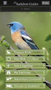 Camping app Audubon Birds