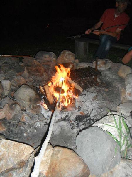 Adventure Canada - campfire