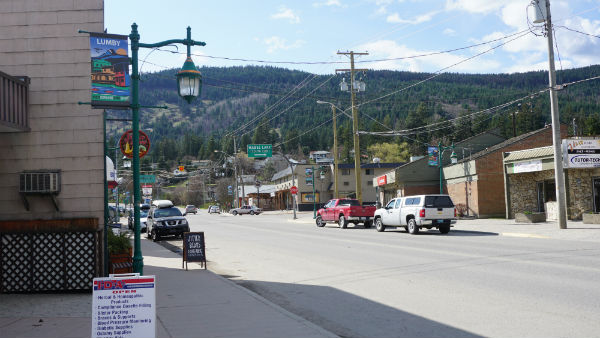 Lumby BC - village