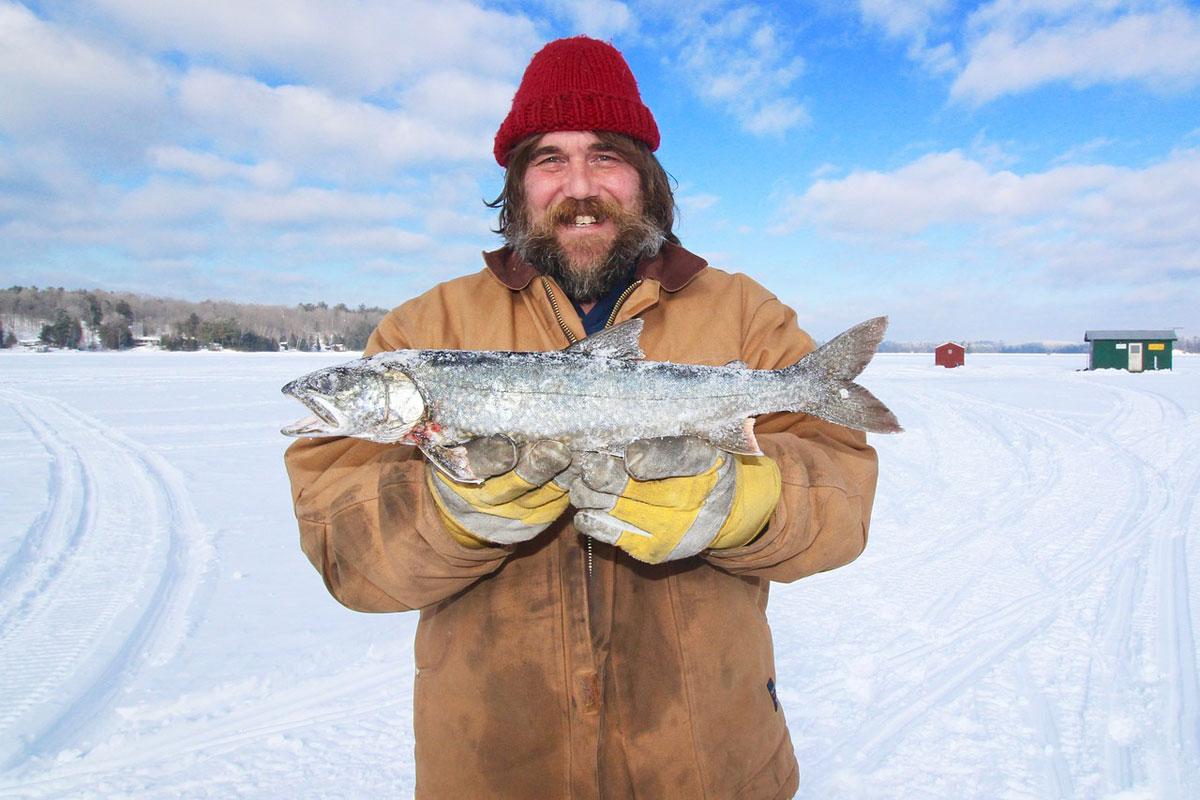 Moving to Canada - icefishing