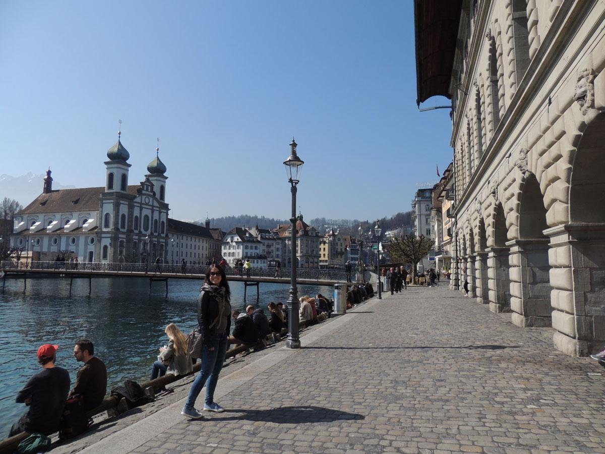 Lucerne on the lake - Switzerland