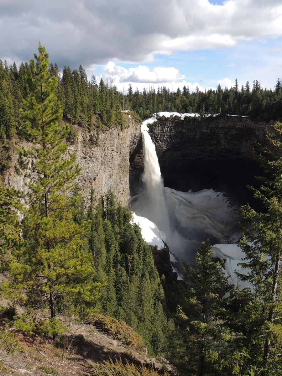 Helmcken Falls Wells Gray Park Waterfalls